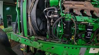 John Deere 7430. Pierwsze uruchomienie silnika po naprawie, będzie poprawka. Naprawa silnika cz. 5.