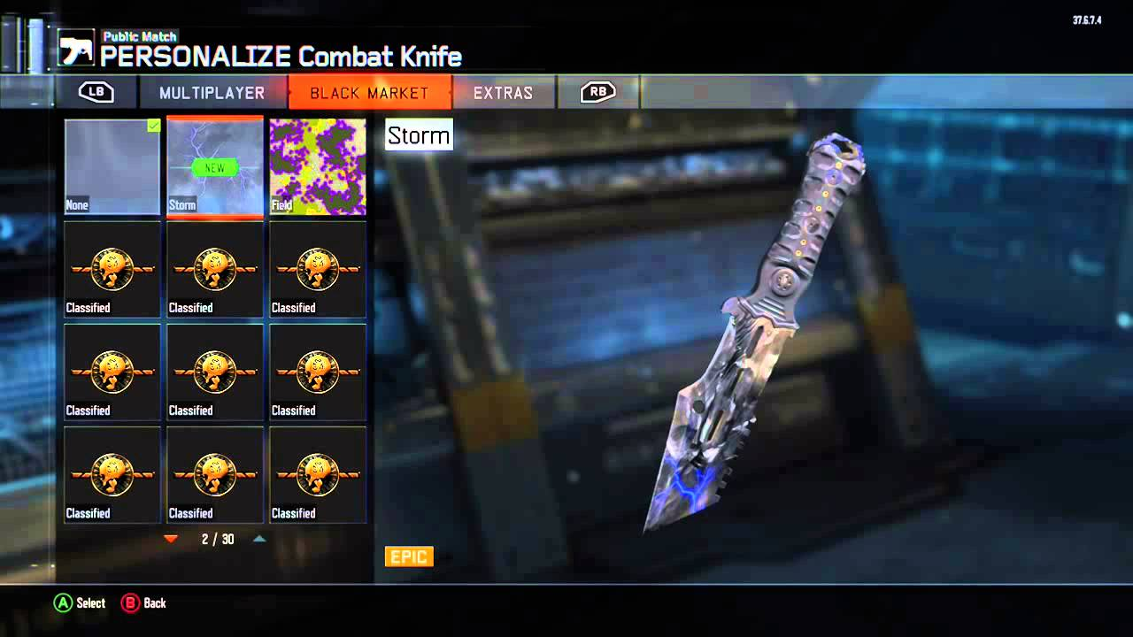 Cool Combat Knife Paint Jobs