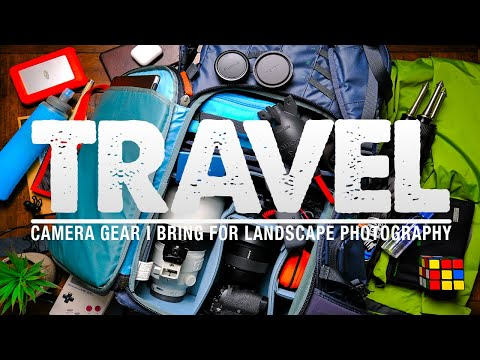 My TRAVEL Camera GEAR for Landscape Photography