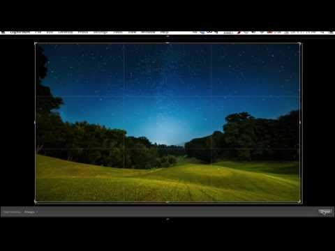 Lightroom Tutorial: Post Processing Star Photography
