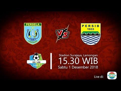 Jadwal Live Indosiar Liga 1 2018, Persela Vs Persib, Sabtu Pukul 15.30 WIB