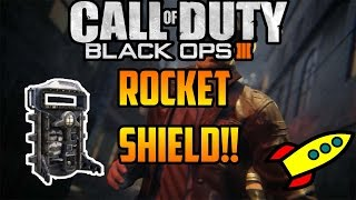 SHADOWS OF EVIL | ROCKET SHIELD PART LOCATIONS!! (BO3 ZOMBIES)