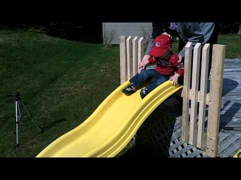 DIY Dadding: Kiddie Slide Project