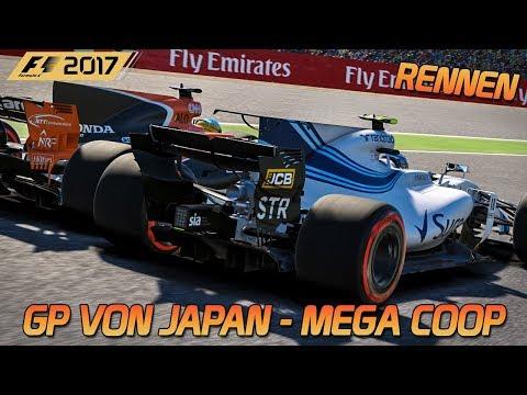 Mega Coop Suzuka - Rennen | F1 2017 [HD] [GER] Großer Preis von Japan