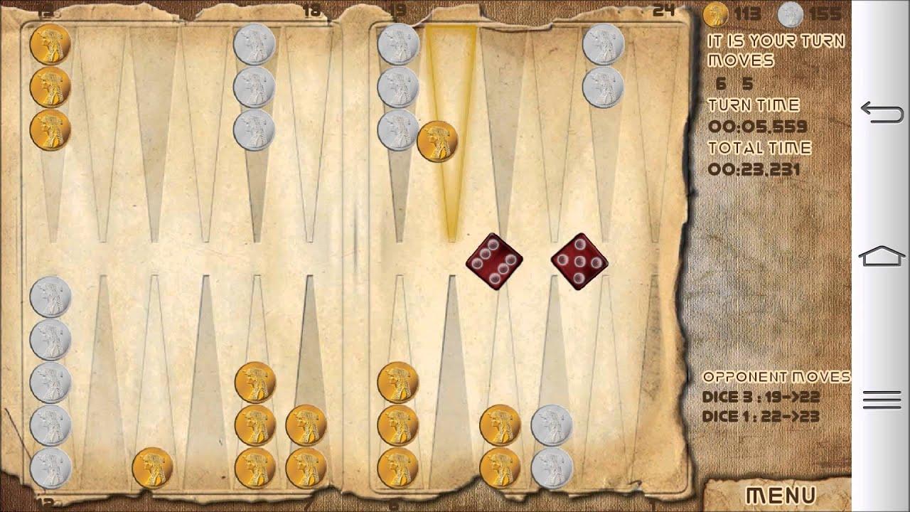 Backgammon Game Youtube