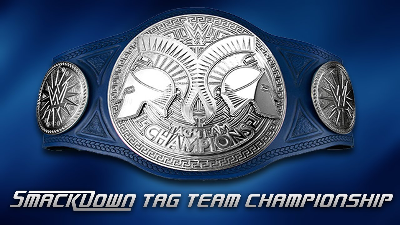 WWE 2K16 - How To Make The SmackDown Tag Team Championship ...