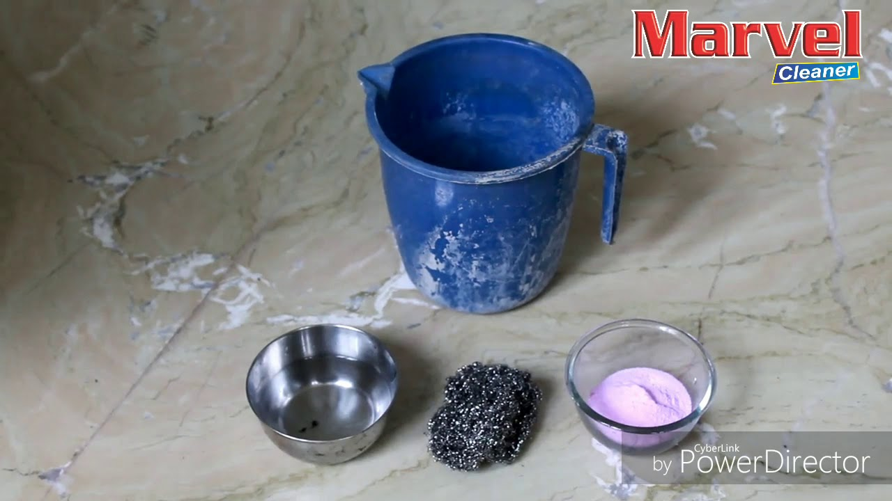 Marvel Cleaner- Remove hard water stains - YouTube
