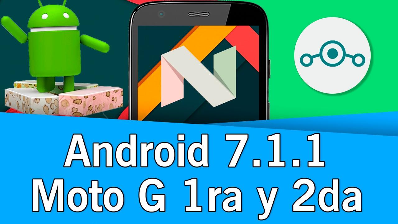 Lineage OS 14 1 - Moto G 2013 (Falcon-Peregrine) (3G y 4G