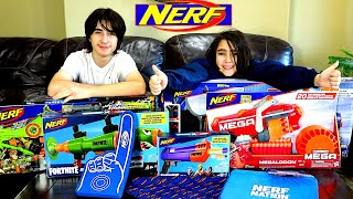NERF NATION FALL CARE PACKAGE   We were SURPRISED With What We Got!