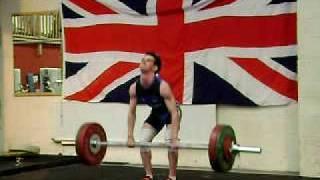 Dylan Scott Clean and Jerk 100 Kg @ 56 kg