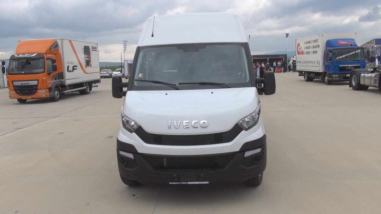 Iveco New Daily 35 170 Van 2014 Exterior And Interior Youtube