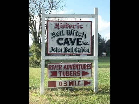 The Bell Witch Cave and Bell grave yard Adams Tennessee \ YTPC
