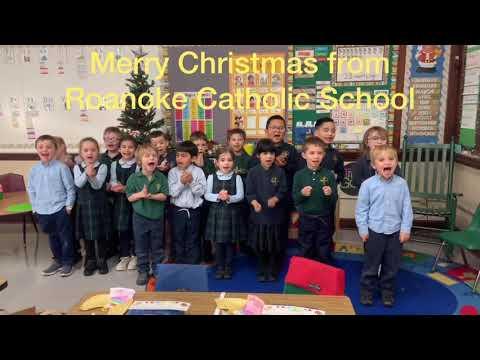 Merry Christmas from Roanoke Catholic School