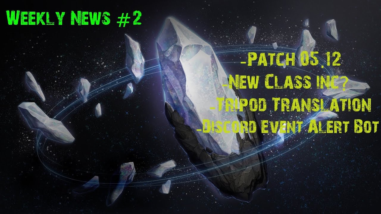 [LAO Weekly News#2] Discord alert Bot, Patch, New Class?