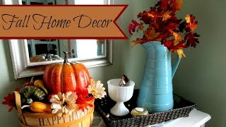 Fall Collab: Fall Home Decor Tour