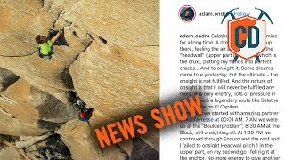 Adam Ondra Almost Onsights Salathé Wall | Climbing Daily Ep.1288