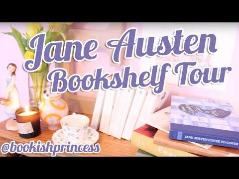 Jane Austen Bookshelf Tour | BookishPrincess