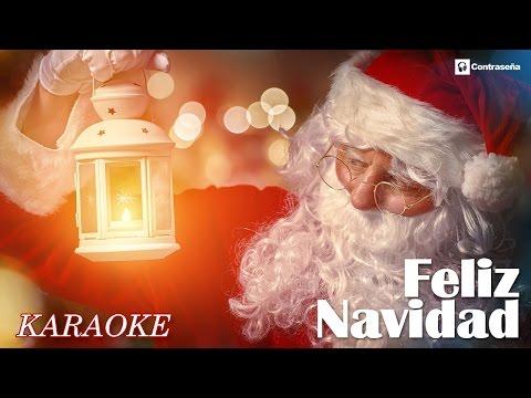 Feliz Navidad Karaoke /Letra/Canciones de Navidad/Villancicos Navideños/Feliz Navidad Bailable/niños