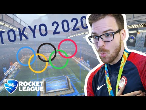 ROCKET LEAGUE AT THE OLYMPICS???