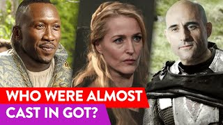 Stars Rejected By The 'Game Of Thrones' Casting | ⭐OSSA