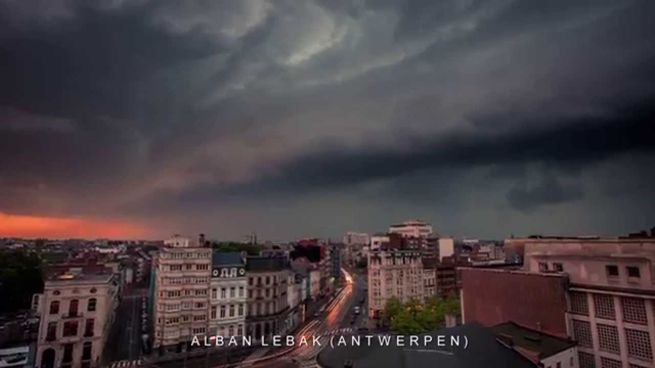 Extreem weer in België en Nederland 5 juni 2015 YouTube