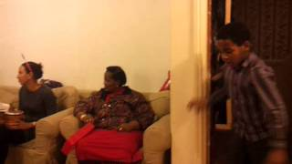 Christmas Day Celebrations 2011 - Family dancing to Flavour N
