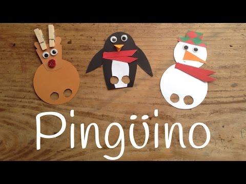 Manualidades de pingüinos para niños sencillas y divertidas