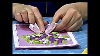 видео Открытки квиллинг своими руками: техника для начинающих