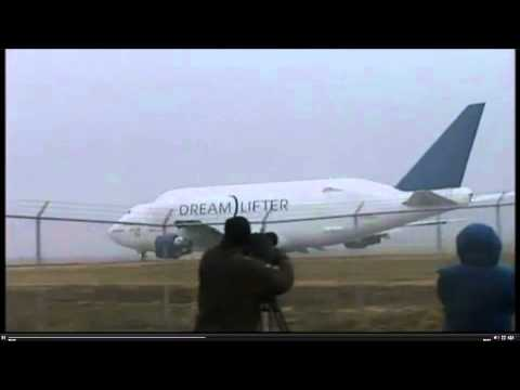 Boeing 747 LCF Dreamlifter takeoff from wrong airport! N780BA Short Runway