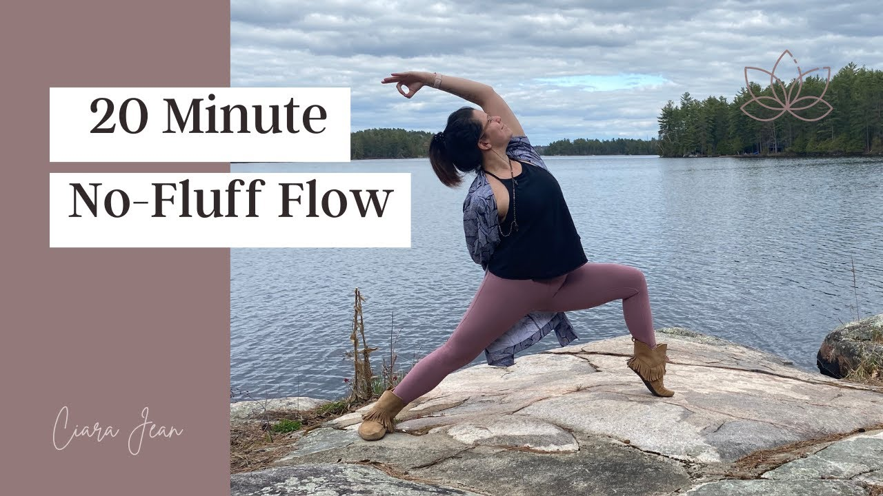 20 minute No-Fluff Flow for Hips + Hammies
