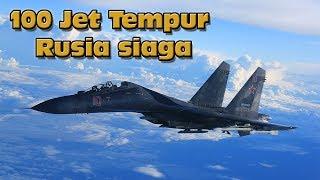 Panas Dingin, Rusia Kirim 100 Jet Baru Ke Crimea Pulau Perbatasan Ukraina..