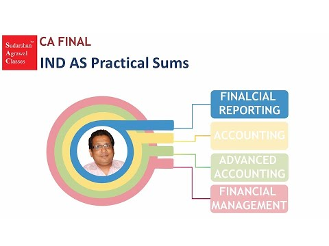 CA FINAL FINANCIAL REPORTING IND AS PRACTICAL SUMS