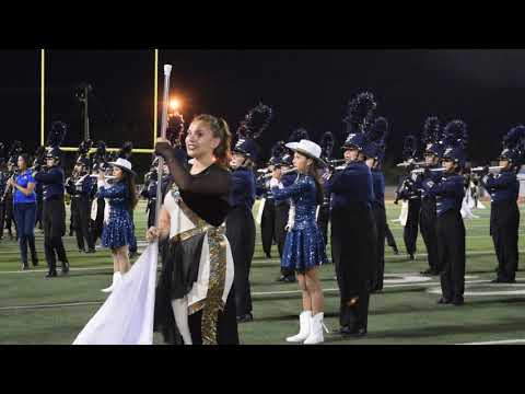 Eastwood High School Band Homecoming Performance 2017
