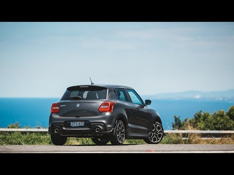 Testing the 2018 Suzuki Swift Sport