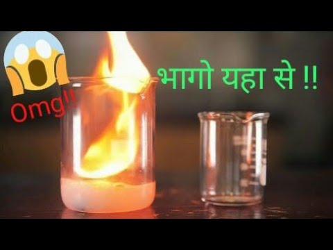 Reaction Of Calcium Carbide With Water