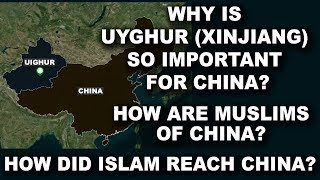 Why is Uyghur Xinjiang so important for China? How are Muslims of China? How did Islam reach China?
