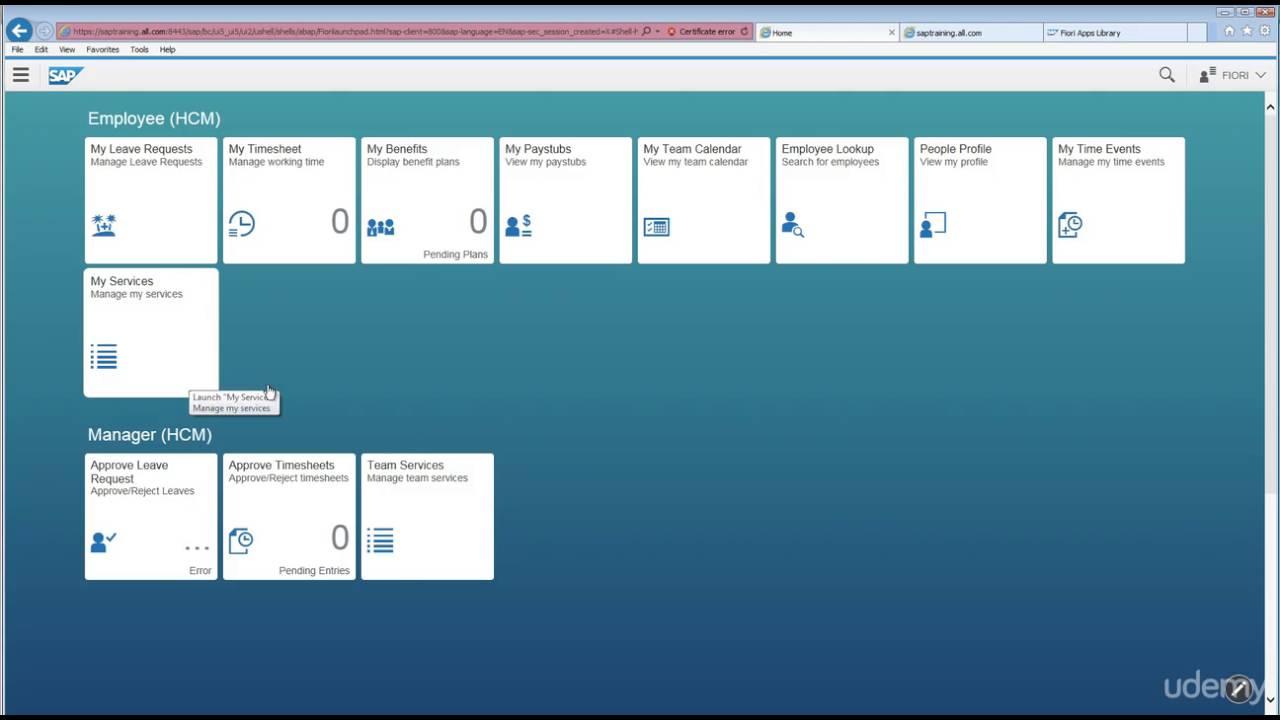 SAP Fiori Administration - 007 Fiori Launchpad Designer Tool