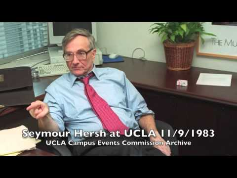 CEC Speak of the Week | Seymour Hersh