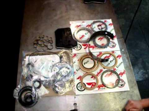 best 4l60e transmission rebuild kit