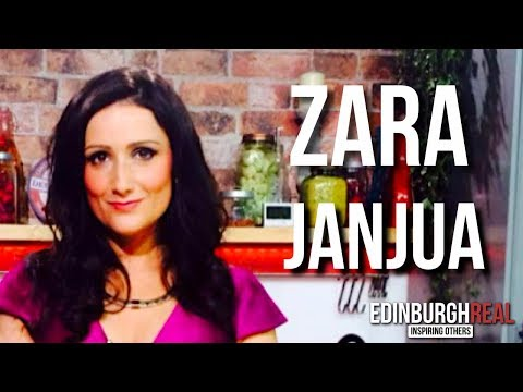 Zara Janjua - Becoming A Television Personality | Edinburgh Real (now Inspired Edinburgh)