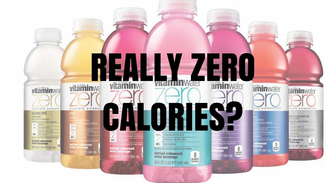 Are 0 calorie drinks really 0 calories youtube for Cocktail 0 calorie