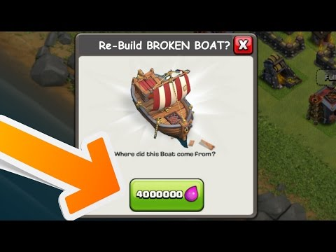 Thumbnail: 10 NEW UPCOMING FEATURES AND USES OF THE BOAT! | CLASH OF CLANS MAY 2017 POSSIBLE UPDATE LEAKS!!