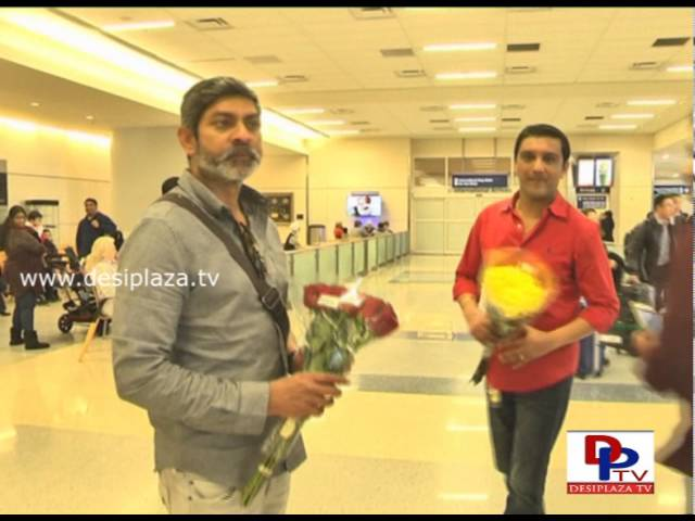 Actor Jagapathi Babu arrives in dfw airport
