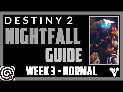 Destiny 2 - Nightfall Guide - Week 3: Exodus Crash