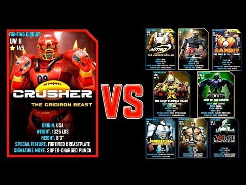 Real Steel WRB FINAL CRUSHER Series of fights #2 NEW ROBOT (Живая Сталь)