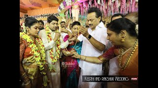 keerthi-Rashmi  Wedding | DMK leader MK Stalin's speech at a DMK member's son wedding in Trichy