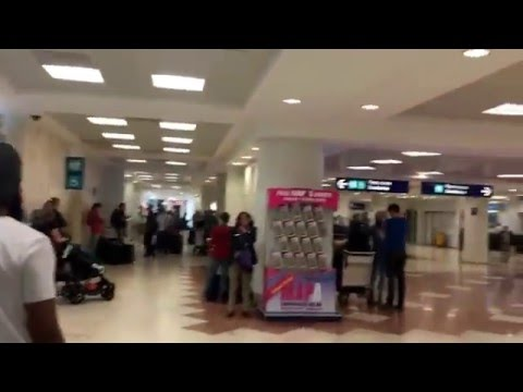 TRAVEL TIPS Yucatan, Mexico # 1 Arrival into Cancun airport, Terminal 2.
