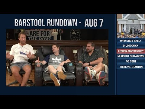 Barstool Rundown - August 7, 2018