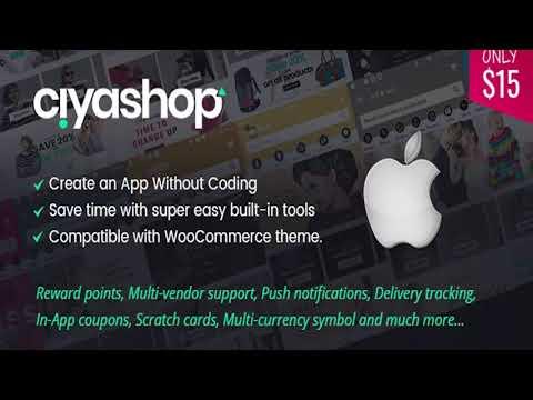 CiyaShop Native iOS Application based on WooCommerce   Codecanyon Scripts and Snippets thumbnail