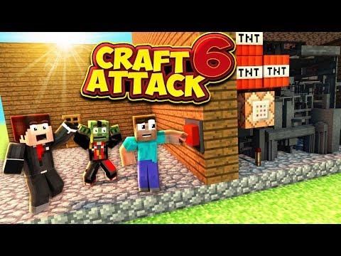Das REDSTONE Haus von iOser & JoCraft! - CraftAttack 6 #21 mit TheJoCraft & iOser100